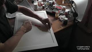 Иконопись. Графление