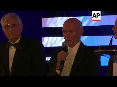 Apollo Astronauts Reflect on US Moon Missions