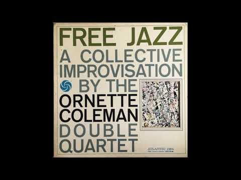ORNETTE COLEMAN DOUBLE QUARTET - Free Jazz LP 1961 Mono Full Album
