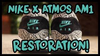 NIKE X ATMOS AIR MAX 1 RESTORATION AND WALKTHROUGH! | xChaseMaccini