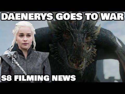 Daenerys goes to War in King's Landing - Game of Thrones Season 8 ( Spoilers )