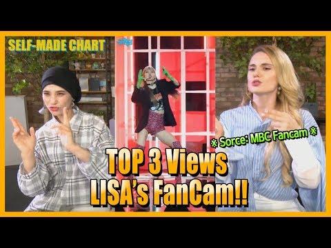 [SectionTV Kpop] BLACKPINK LISA's MBC Fancam Rank TOP3! What Is TOP1?(Girl Main Dancer Special)