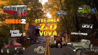 Продолжение играем в Euro Truck Simulator 2 карта Суровая Россия R-9