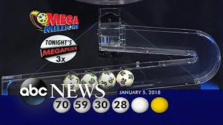 Lucky winner in one of the largest jackpots in lottery history