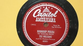 Roundup Polka - Tex Williams and his Western Caravan - Capitol Records Americana Series 40001