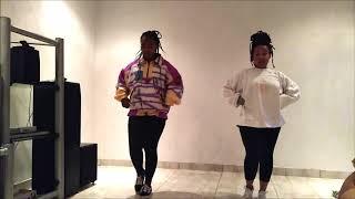 Faya Faya 😂 Dancing with my sister!   Davido - FIA