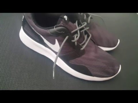 buy popular 75a1f 09250 Nike Run Kaishi Print 3M Rope Laces REVIEW Roshe Free