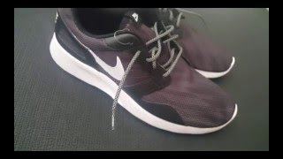 Nike Run Kaishi Print 3M Rope Laces REVIEW Roshe Free