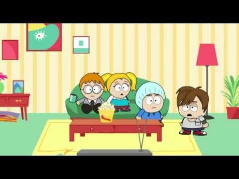 """Buddy's World"" - School Daze CrazyTalk Animator 2 animation by Garry Pye"