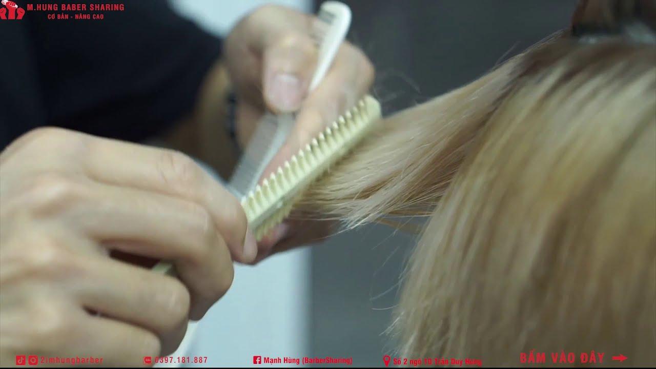 HƯỚNG DẪN -chia sẻ nhanh  kĩ thuật CẮT +TỈA : kiểu tóc MULLET !