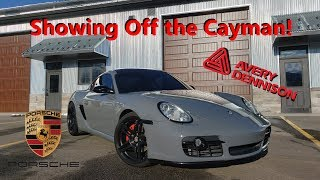 Showing off The Cayman at Makes and Models