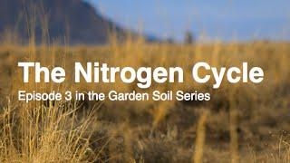 The Nitrogen Cycle Episode 3 in the Garden Soil Series Alberta Urban Garden