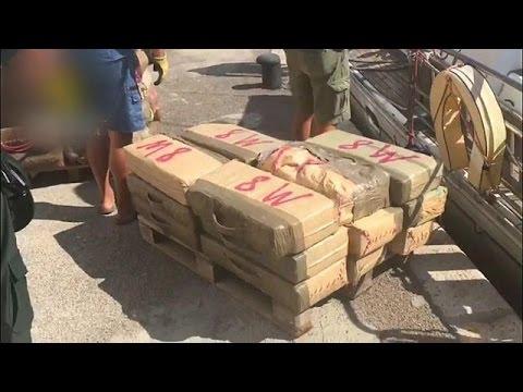 Nederlander gepakt met 14 ton hasj
