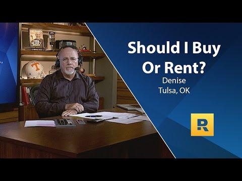 Should I Buy Or Rent?