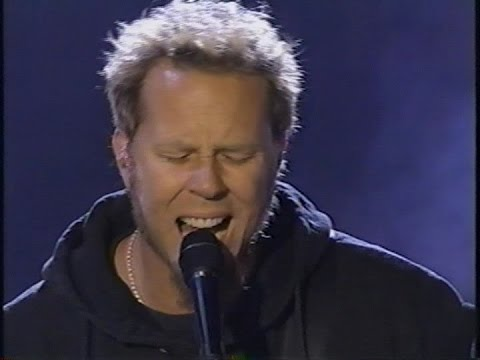 Metallica  Fade To Black   at The VH1 MyMusic Awards 2000 TV Broadcast