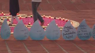 Water Ceremony for Auroville's 50th anniversary 28-2-2018 thumbnail