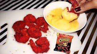 ASMR Cooking: CRUNCHY SHRIMP in HOT CHEETOS  THE EASY WAY