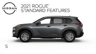 homepage tile video photo for 2021 Nissan Rogue S Walkaround & Review