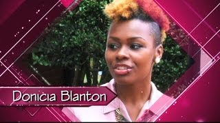 Donicia Blanton - A future in clinical psychology