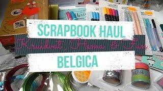 Compras Scrapbook Haul | Kruidvat y Hema Bélgica | Yoltzin Handmade