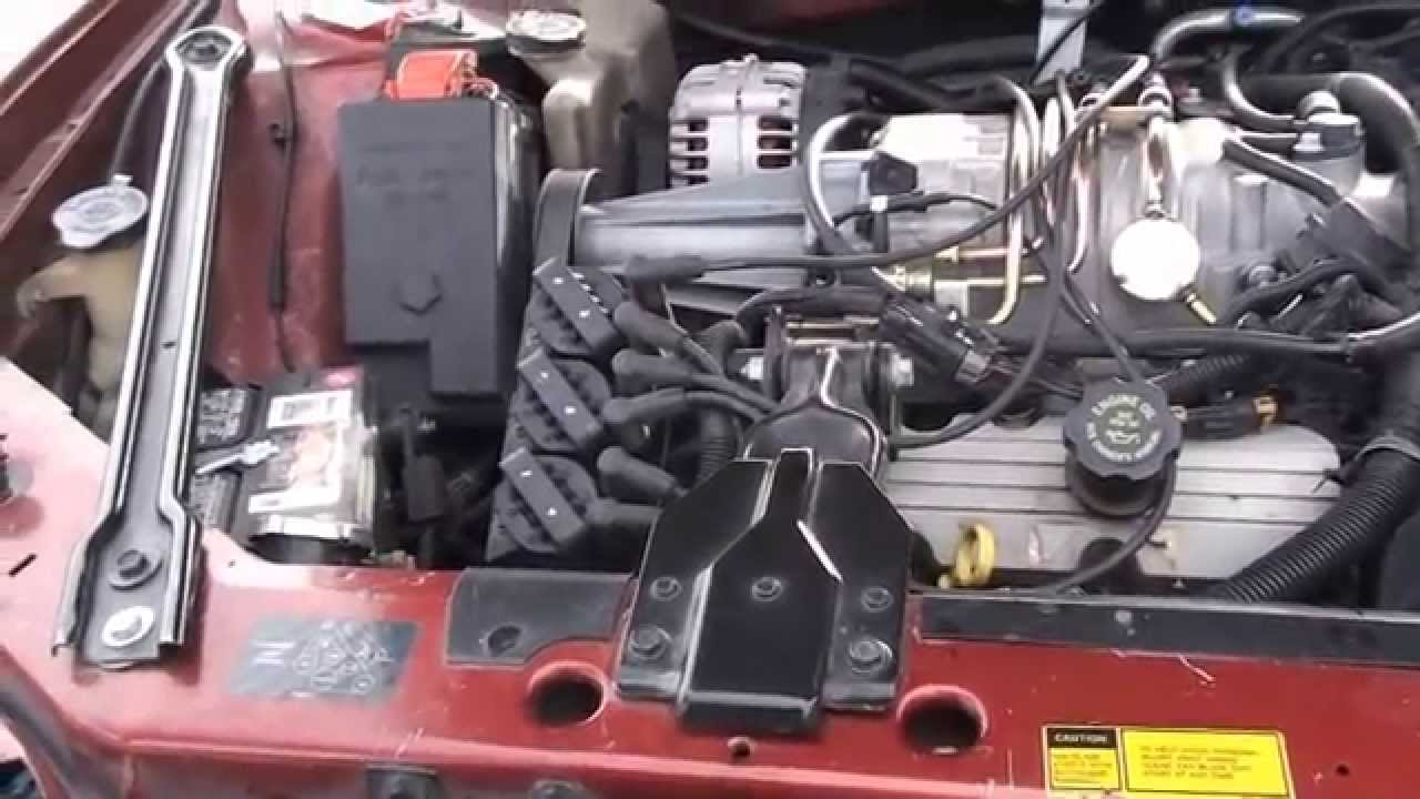 How to replace spark plug wires on a Grand Prix GTP  YouTube