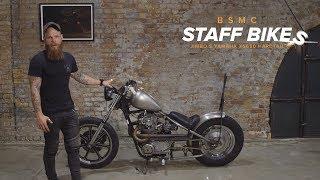 Jimbo's Shed Built Yamaha XS650 Hardtail
