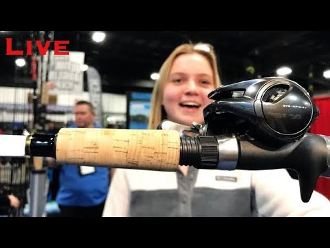 First Look At Cool Gear! Spring Fishing And Boat Show (LIVE)