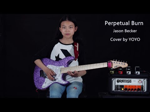 Jason Becker - Perpetual Burn - Cover by YOYO - A 11 year old girl Mp3