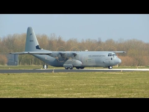 RNAF ► C-130J-30 Super Hercules ► Takeoff ✈ Leeuwarden Air Base
