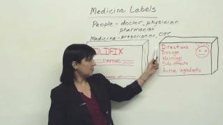 Practical English: Understanding Medicine Labels