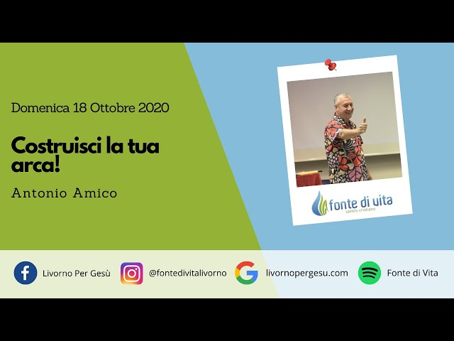 Domenica 18 ottobre 2020