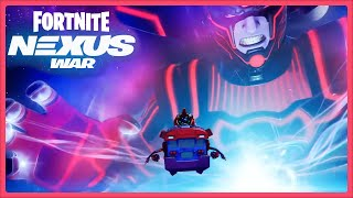 Watching the Galactus Fortnite event live with my son!