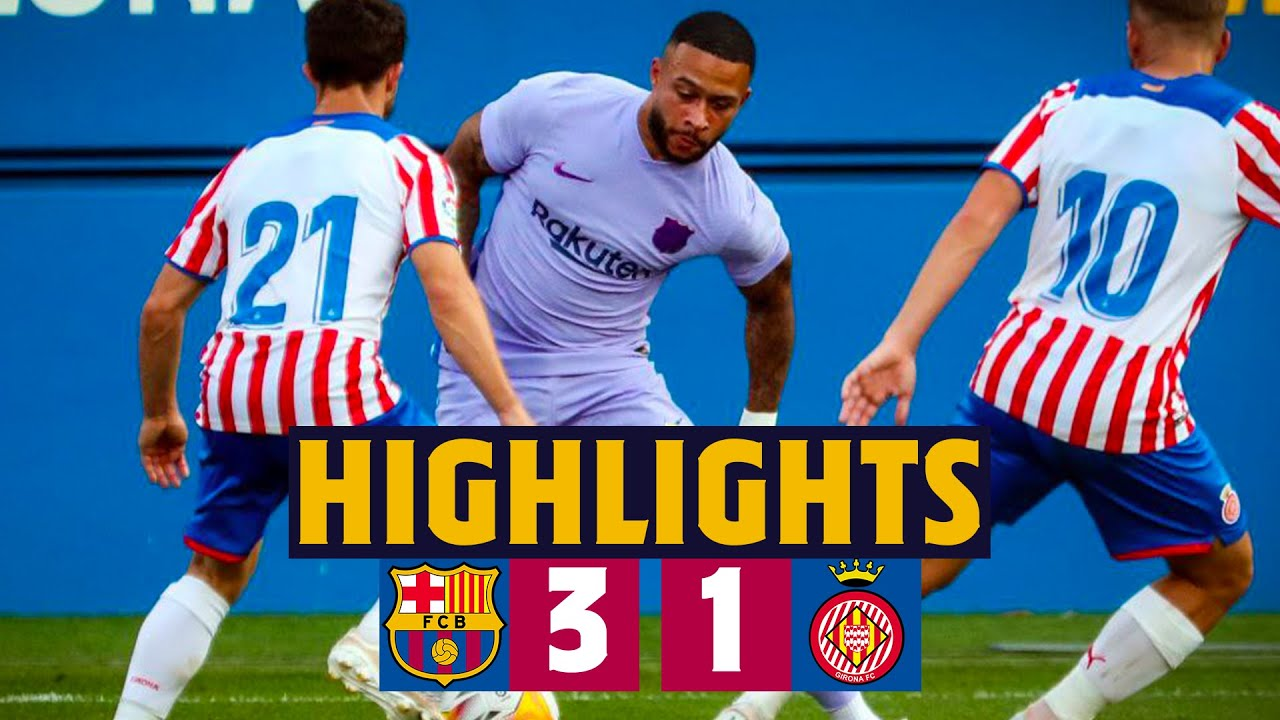 Download HIGHLIGHTS | Barça 3-1 Girona (MEMPHIS' DEBUT FOR BARÇA!) 🦁