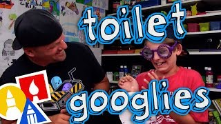Toilet Googlies + Giveaway Winners