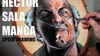 Speed drawing Hector Salamanca - Breaking Bad