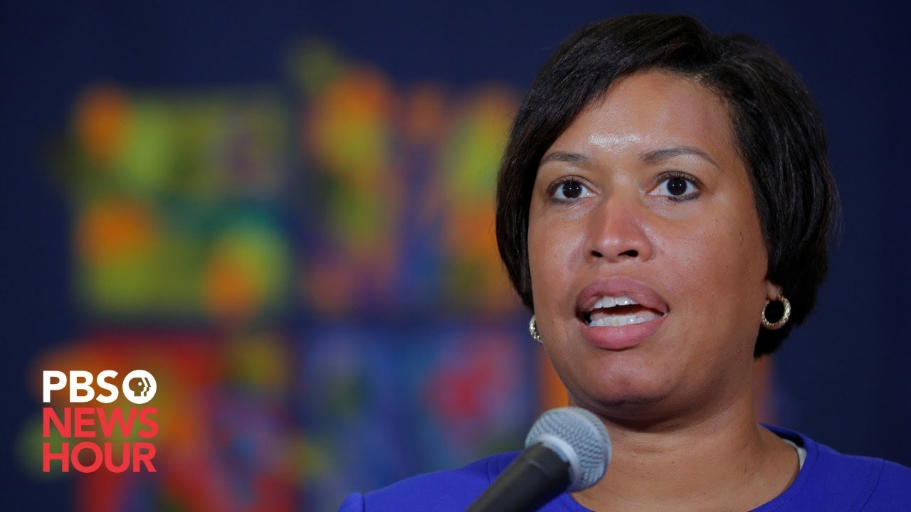 DC Mayor Muriel Bowser gives update the ...
