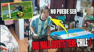(REACCION ARGENTINOS) CHILE 2 COLOMBIA 2 - ELIMINATORIAS QATAR