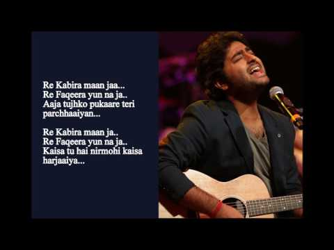 Arijit Singh With His Soulful Performance Mirchi Music Awards Lyrics