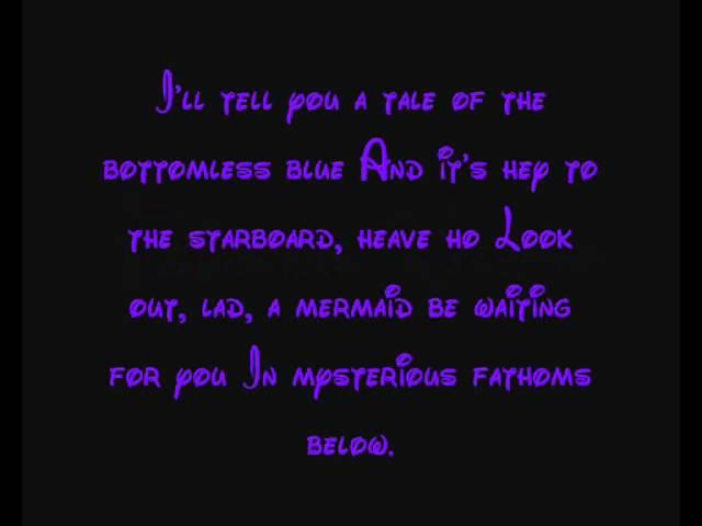 little mermaid lyrics - 640×480