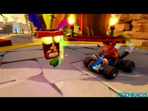 Crash Team Racng Nitro Fueled Nintendo Switch First Play Gameplay 2019