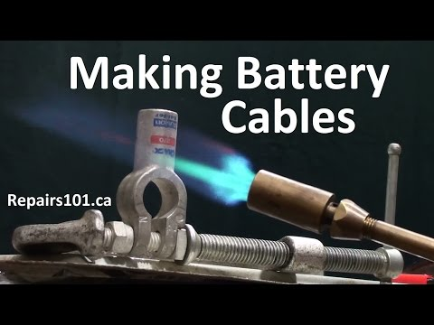 How to make Battery Cables For Auto, Marine & Solar