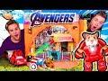 AVENGERS Endgame HAMSTER BOX FORT! 🐹 Animal Avengers