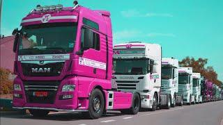 Xe Tải, Container To  Diễu Hành - Nhạc Thiếu Nhi Sôi Động - Gooise Karavaan (Truckersrun) 2021
