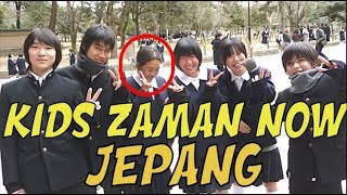 BARENG ANAK SD, SMP JEPANG IKUT STUDY TOUR KE KUIL DI NARA