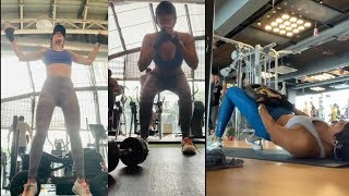 Mandira Bedi Intense Workout  H0ttest Mom in Bollywood  BORN to INSPIRED