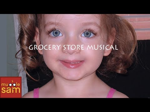 GROCERY STORE MUSICAL | 2-Year-Old Bella Mugglesam