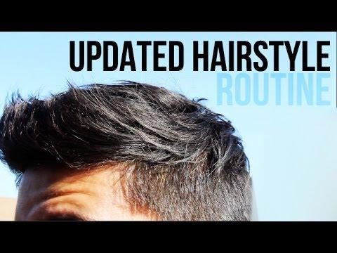 Hairstyle Routine : UPDATED HAIRSTYLE ROUTINE :: MENS HAIR 2014 JAIRWOO - YouTube