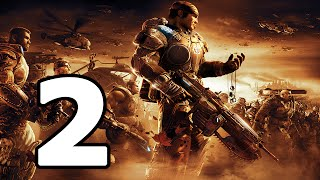 Gears Of War 2 Walkthrough Part 2 - No Commentary Playthrough (Xbox 360)