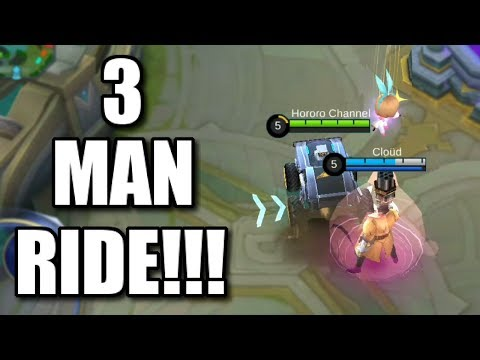 3 MAN RIDE WITH JOHNSON'S ULTIMATE AND ANGELA