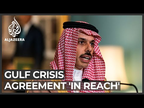 Saudi FM says final agreement in Qatar dispute 'in reach'